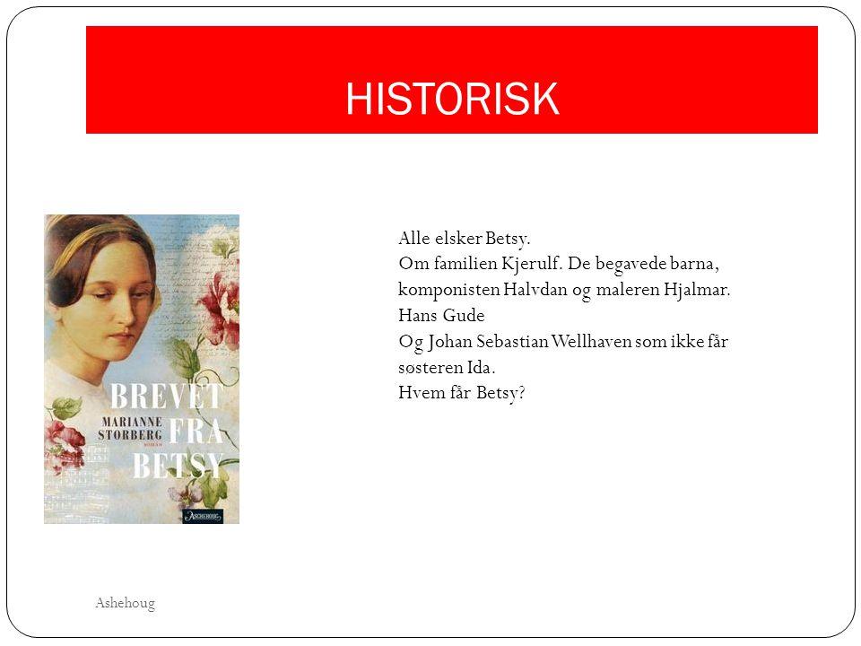 HISTORISK Alle elsker Betsy. Om familien Kjerulf. De begavede barna, komponisten Halvdan og maleren Hjalmar. Hans Gude Og Johan Sebastian Wellhaven so