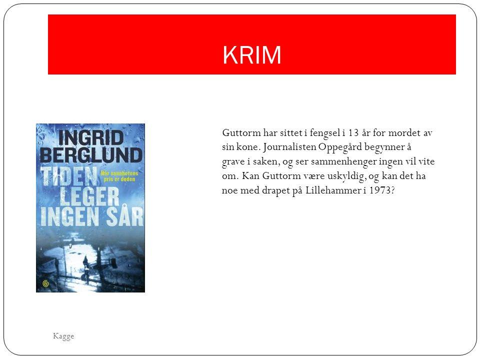 KRIM Guttorm har sittet i fengsel i 13 år for mordet av sin kone. Journalisten Oppegård begynner å grave i saken, og ser sammenhenger ingen vil vite o