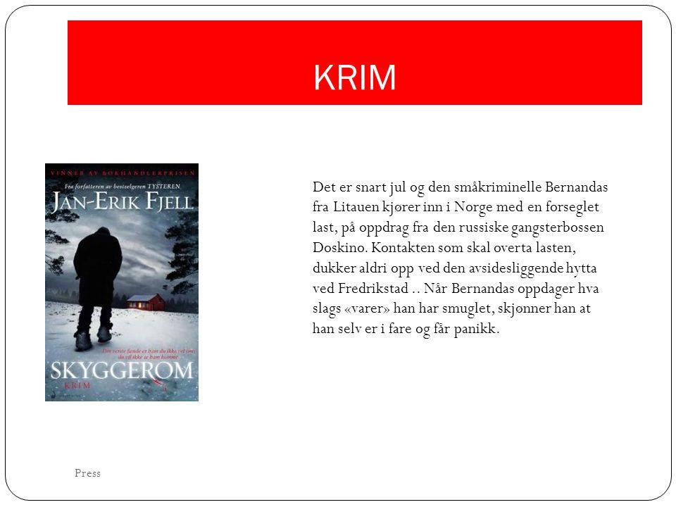 KRIM Det er snart jul og den småkriminelle Bernandas fra Litauen kjører inn i Norge med en forseglet last, på oppdrag fra den russiske gangsterbossen