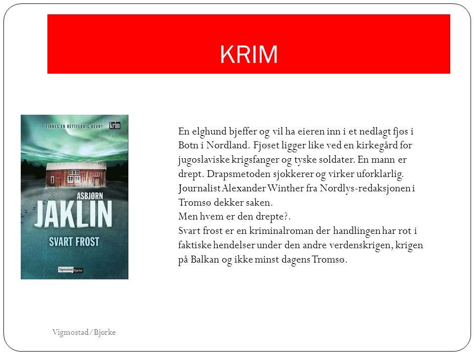 KRIM En elghund bjeffer og vil ha eieren inn i et nedlagt fjøs i Botn i Nordland. Fjøset ligger like ved en kirkegård for jugoslaviske krigsfanger og