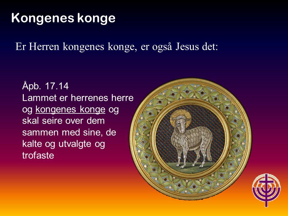 Jødiske røtter… Kongenes konge 1.Tim.