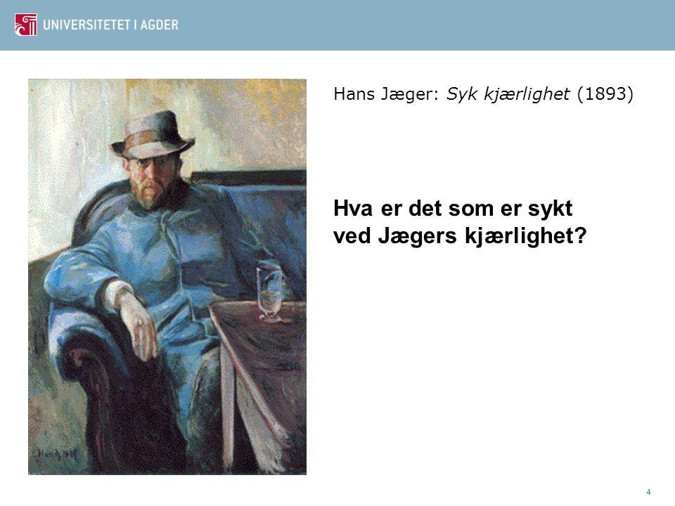 5 Harald Rosenløw Eeg Eksempler fra Filter der leseren holdes i uvisse.