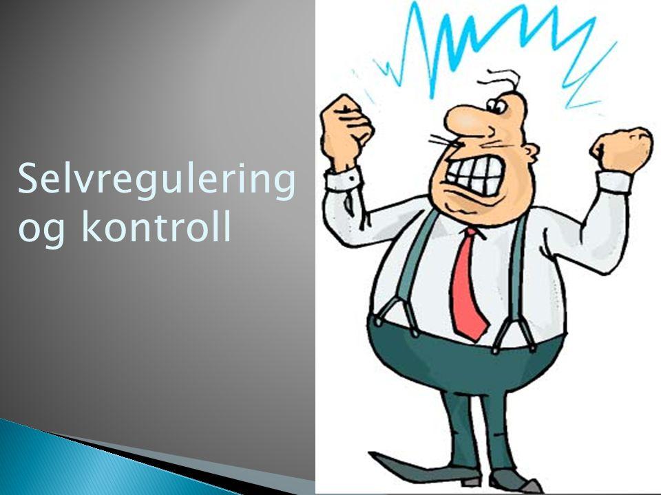 Selvregulering og kontroll