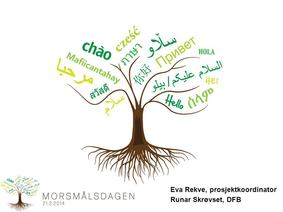 Eva Rekve, prosjektkoordinator Runar Skrøvset, DFB