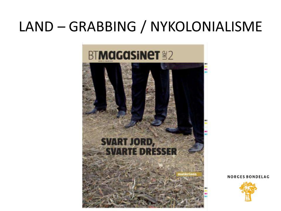 LAND – GRABBING / NYKOLONIALISME