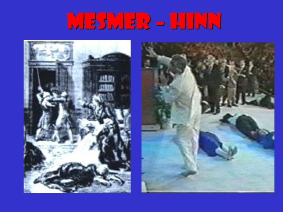 Mesmerisme MESMER var kjent for sin musikalske kunnskap og stilfulle spilling.
