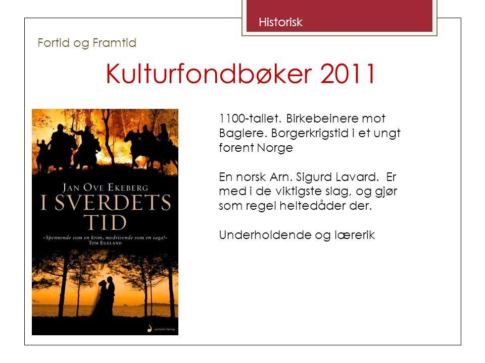 Kulturfondbøker 2011 Det var David og Iben.Nå er det bare David.