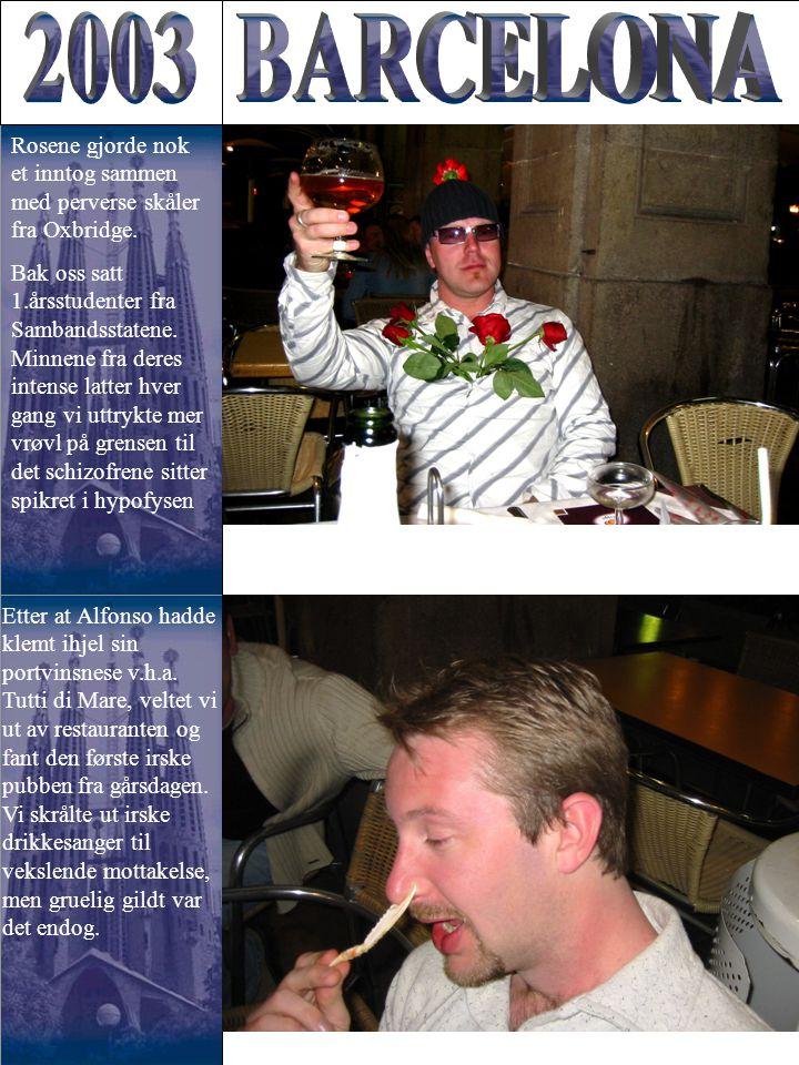 Etter at Alfonso hadde klemt ihjel sin portvinsnese v.h.a. Tutti di Mare, veltet vi ut av restauranten og fant den første irske pubben fra gårsdagen.