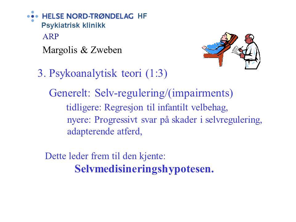 HF Psykiatrisk klinikk ARP Margolis & Zweben •Klassisk betinging •Operant betinging •Modell atferd •Kognitiv-atferd/ Sosiallærings-modell. 2. Læringst