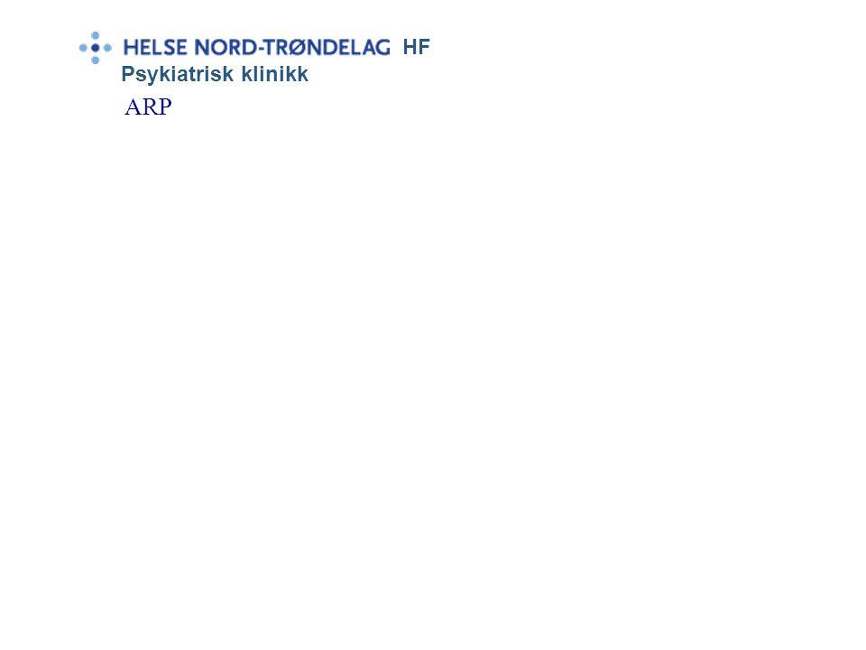 HF Psykiatrisk klinikk ARP eller Craig Nakkens svar på kåfr Jeppe e hekta.