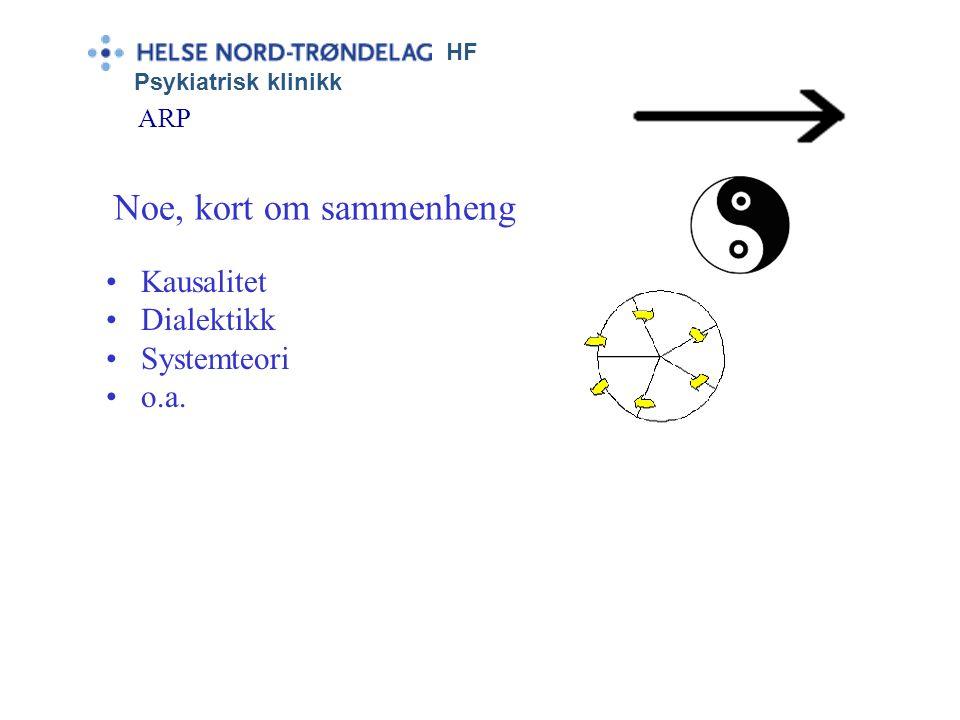 """HF Psykiatrisk klinikk ARP Kriterier:  Sterkt trang, sug (engelsk: """"craving"""")  Kontrollvansker. """"Egentlig"""" ønske om ikke å handle som man gjør  Fys"""