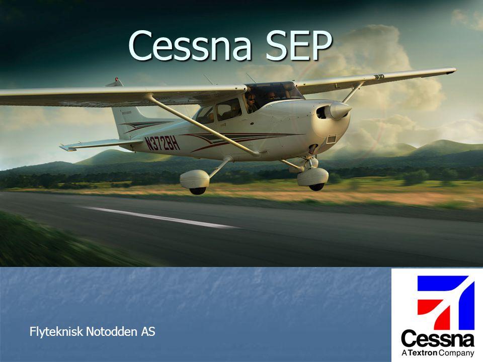  Flyverksted på Notodden siden 1983  Stor kompetanse på småfly, spesielt Cessna  01.01.06.