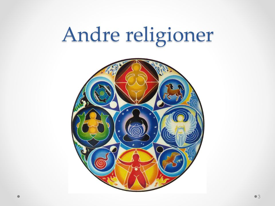 Andre religioner 3