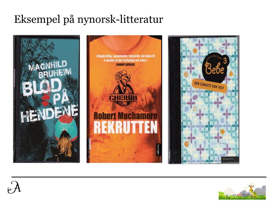 Eksempel på nynorsk-litteratur