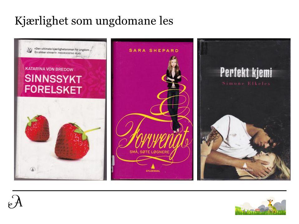 Kjærlighet som ungdomane les