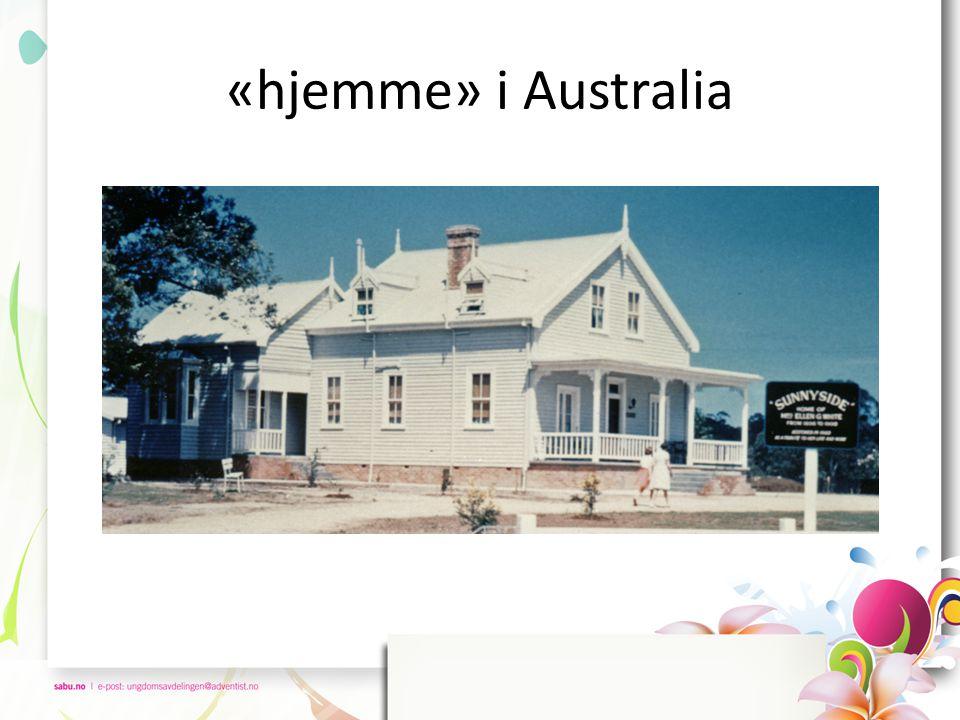 «hjemme» i Australia