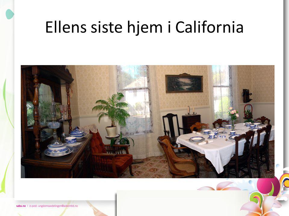 Ellens siste hjem i California