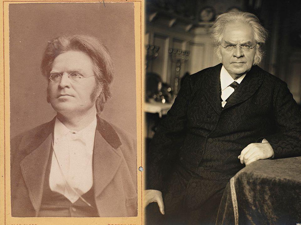 KAROLINE BJØRNSON  Født 1835, døde 1934  Bjørnstjerne Bjørnson  Skuespillerinne  Renskreiv dikt til Bjørnson