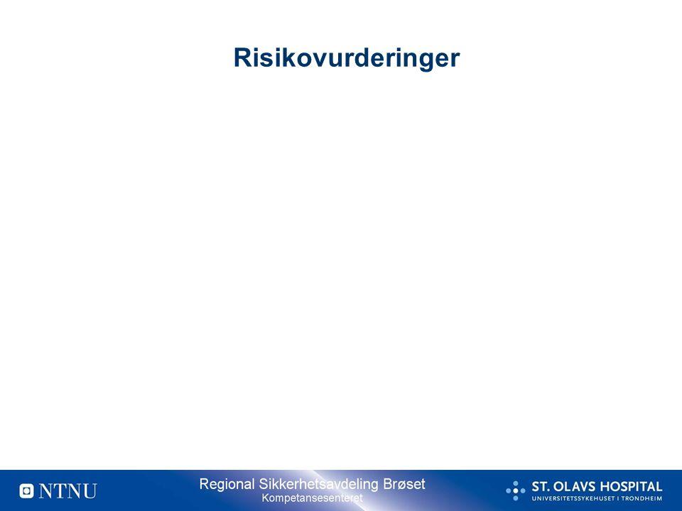 Risikovurderinger