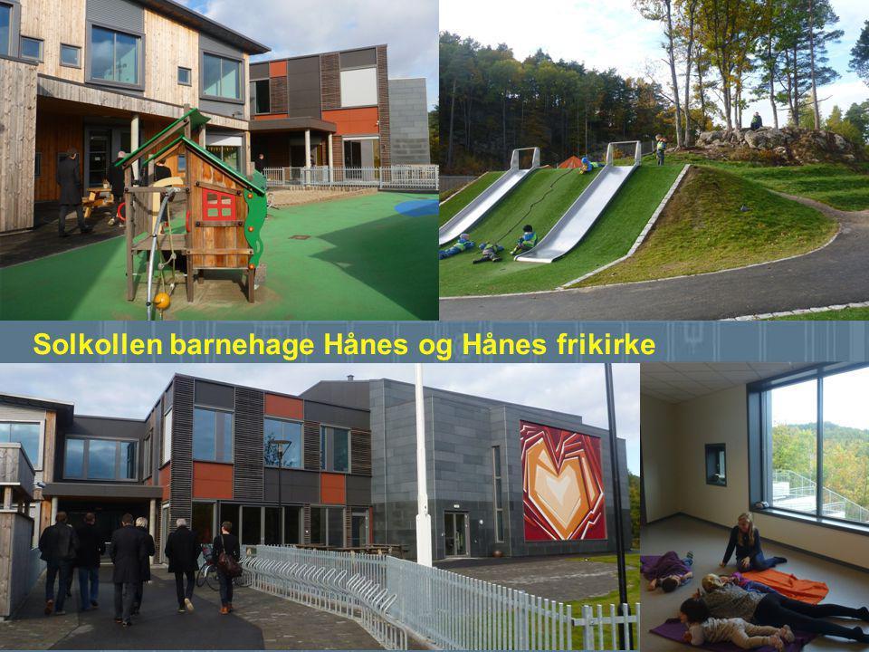 De nominerte er: Solkollen barnehage Hånes og Hånes frikirke