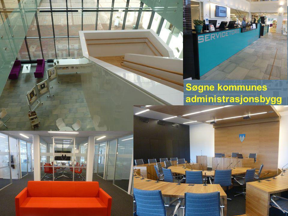 De nominerte er: A-lab (Arkitektlaboratoriet) og Søgne kommune For Søgne kommunes administrasjonsbygg i kombinasjon med nytt bibliotek.