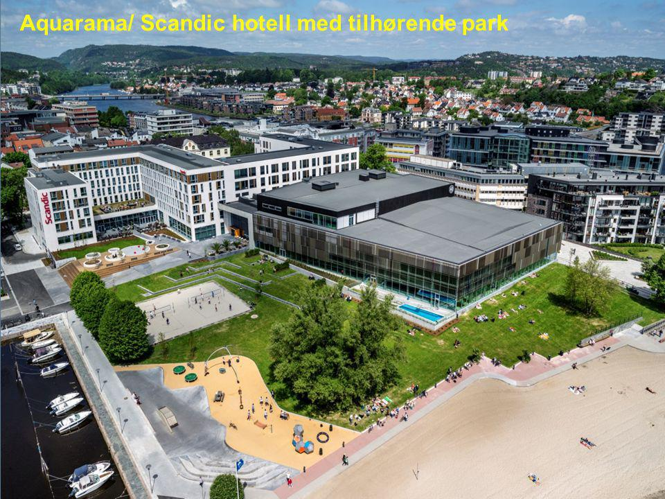 De nominerte er: Aquarama/ Scandic hotell med tilhørende park