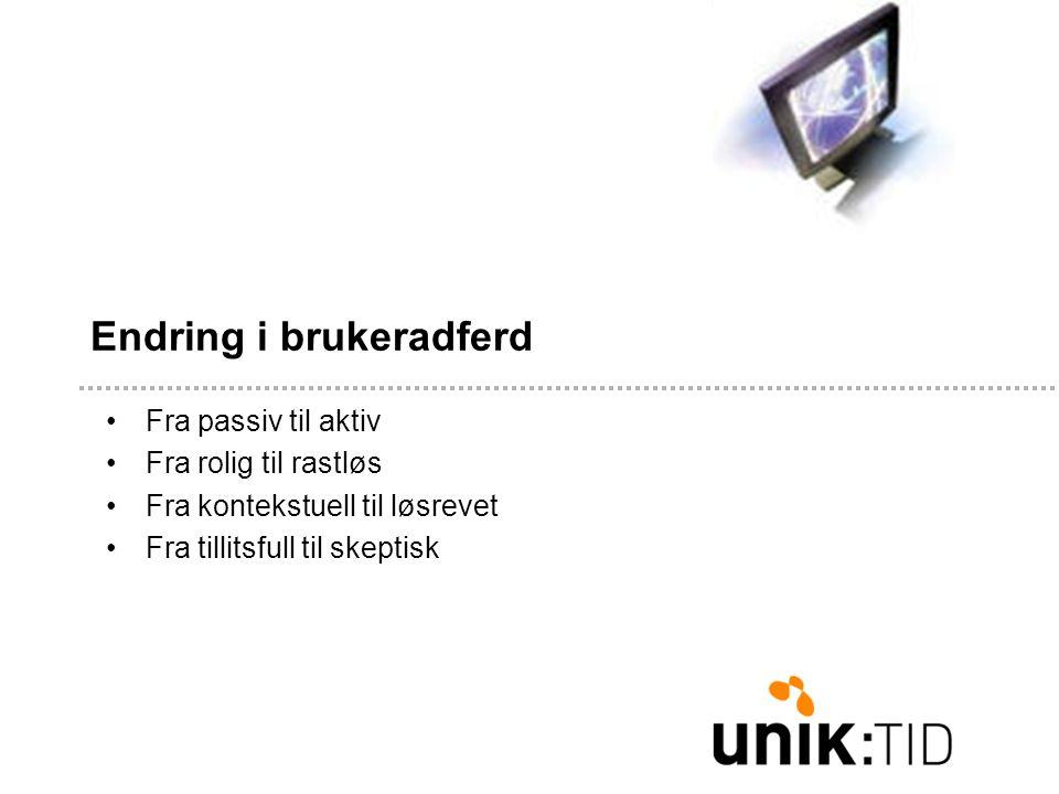 Konklusjon: •3 vinnerstrategier for webskriving: KOS – Kort, Objektivt og Skumlesbart •http://www.useit.com/papers/webwriting/http://www.useit.com/papers/webwriting/