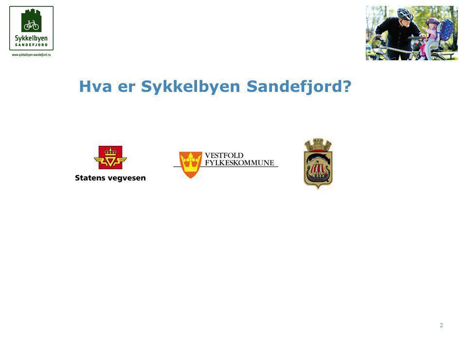 2 Hva er Sykkelbyen Sandefjord
