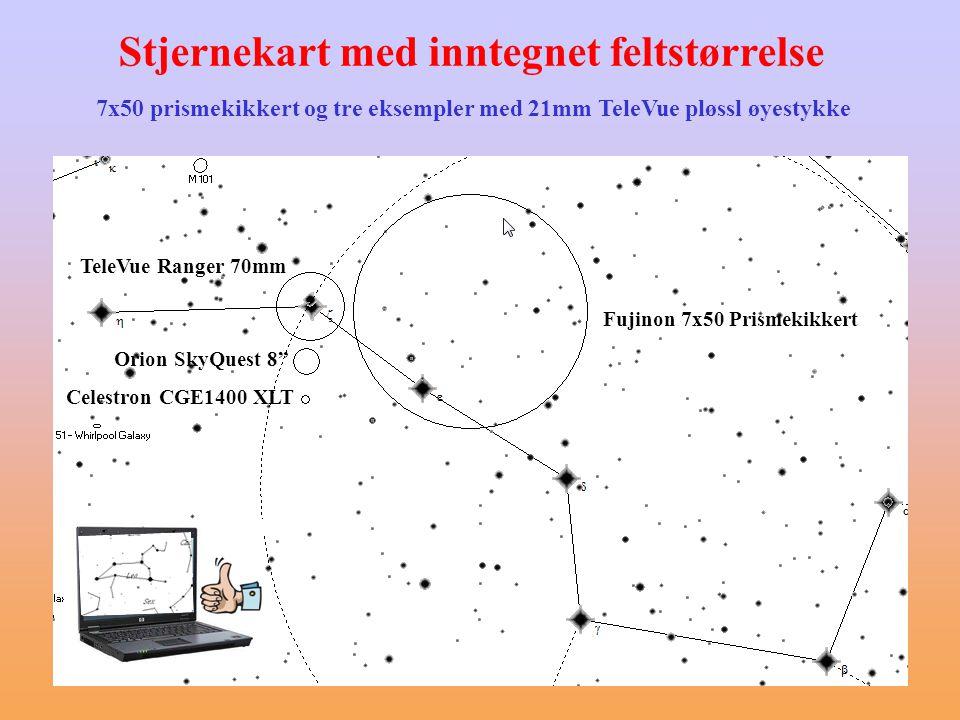 GoTo-funksjonalitet Teleskoper som selv finner frem til objekter • Veldig enkelt å bruke (NGC 7331  GoTo) • Kan til og med styres direkte fra stjernekartprogrammer på PC • Ekvatorialmonteringer kan være vanskelig å sette opp nøyaktig nok Skal konsentrere oss om manuelle metoder her
