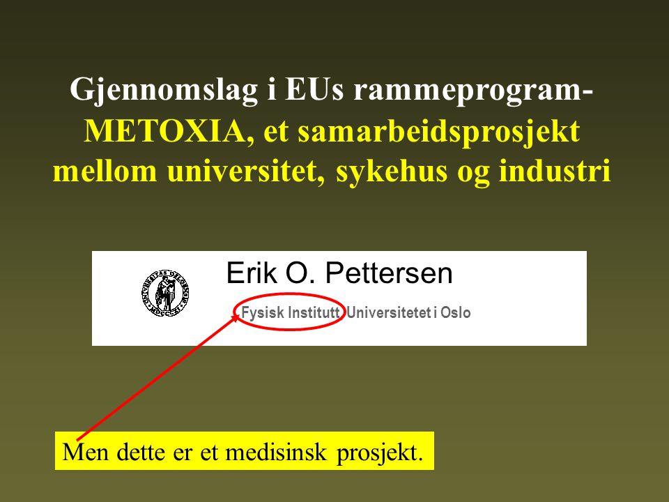 2002-2003: Vi når vårt egentlige mål: Et konsortium for et fullskala forskernettverk innen EU.