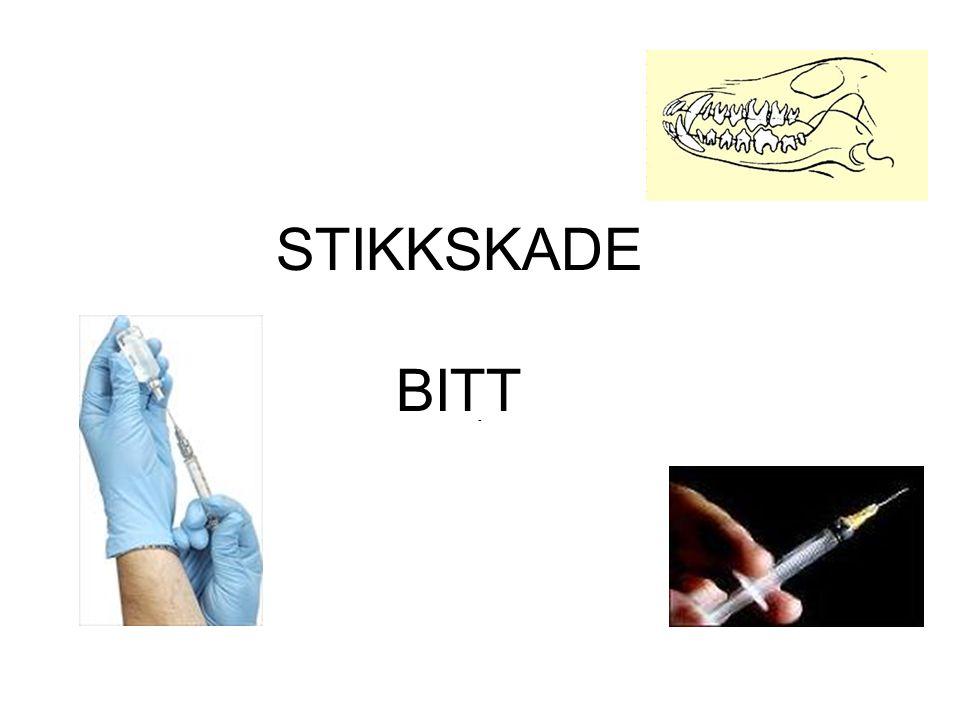 STIKKSKADE BITT -