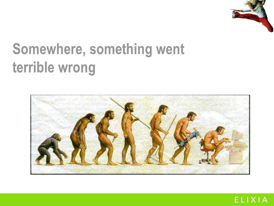 Vi er skapt til evolusjon  Vår lokale evolusjon.