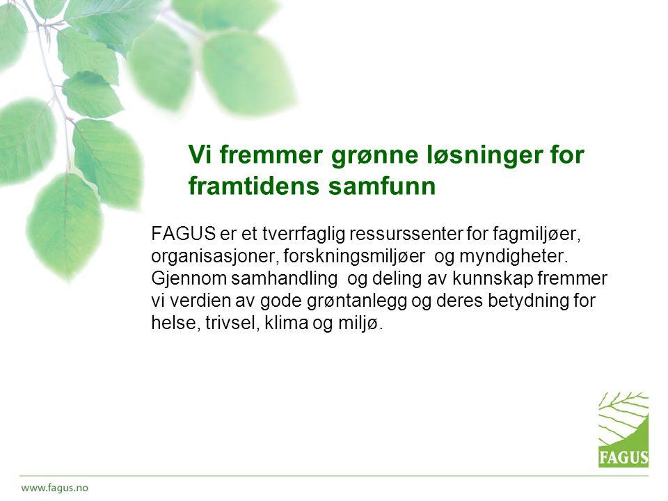 FAGUS er et tverrfaglig ressurssenter for fagmiljøer, organisasjoner, forskningsmiljøer og myndigheter.