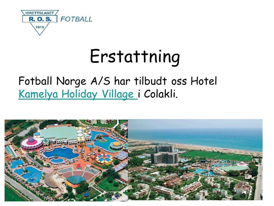 Erstattning Fotball Norge A/S har tilbudt oss Hotel Kamelya Holiday Village i Colakli. Kamelya Holiday Village