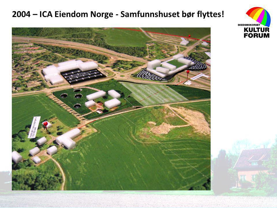 2004 – ICA Eiendom Norge - Samfunnshuset bør flyttes!