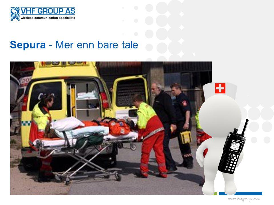 www.vhfgroup.com Sepura - Mer enn bare tale