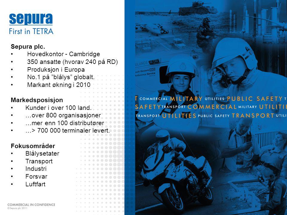 www.vhfgroup.com Sepura plc.