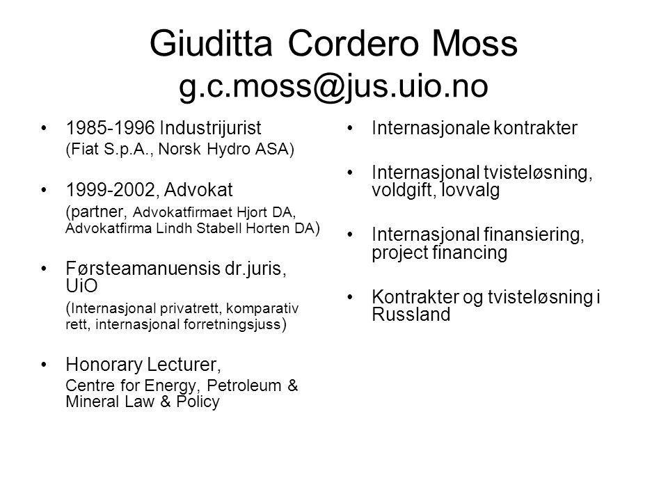 En enhetlig internasjonal/europeisk kontraktsrett.