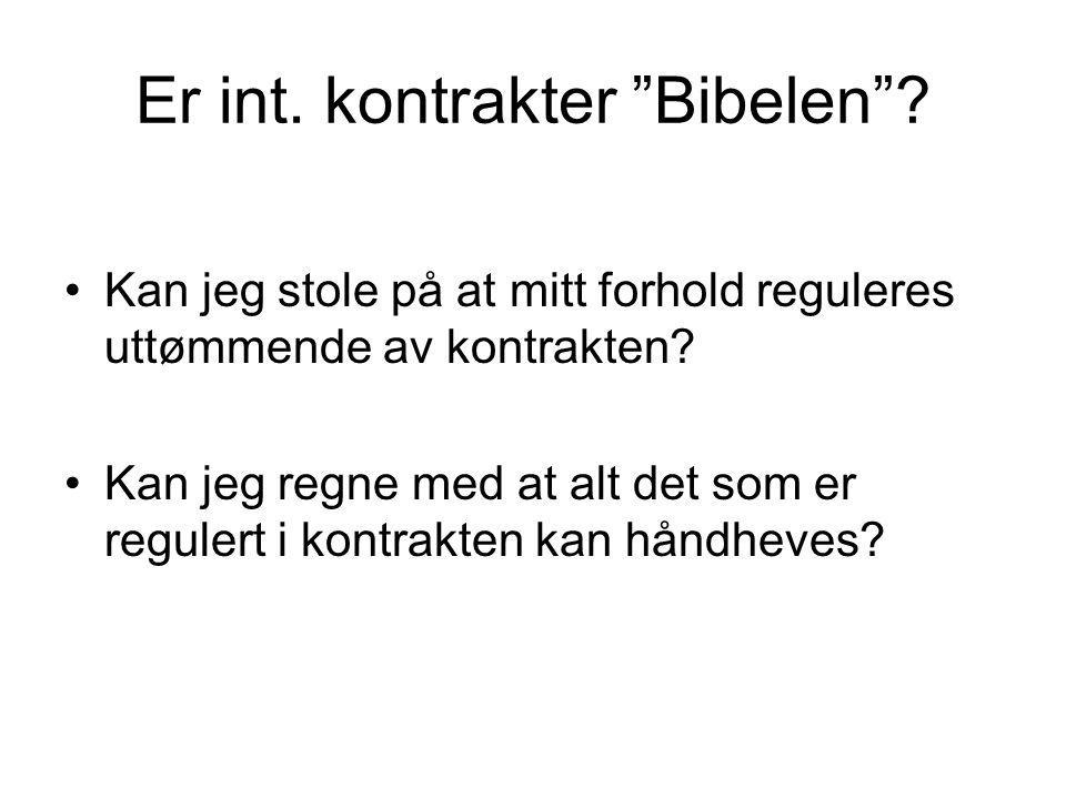 Underleverandørs tilbud •Internasjonal anbud for bygging av infrastruktur •Norsk entreprenør deltar med bud basert bl.a.