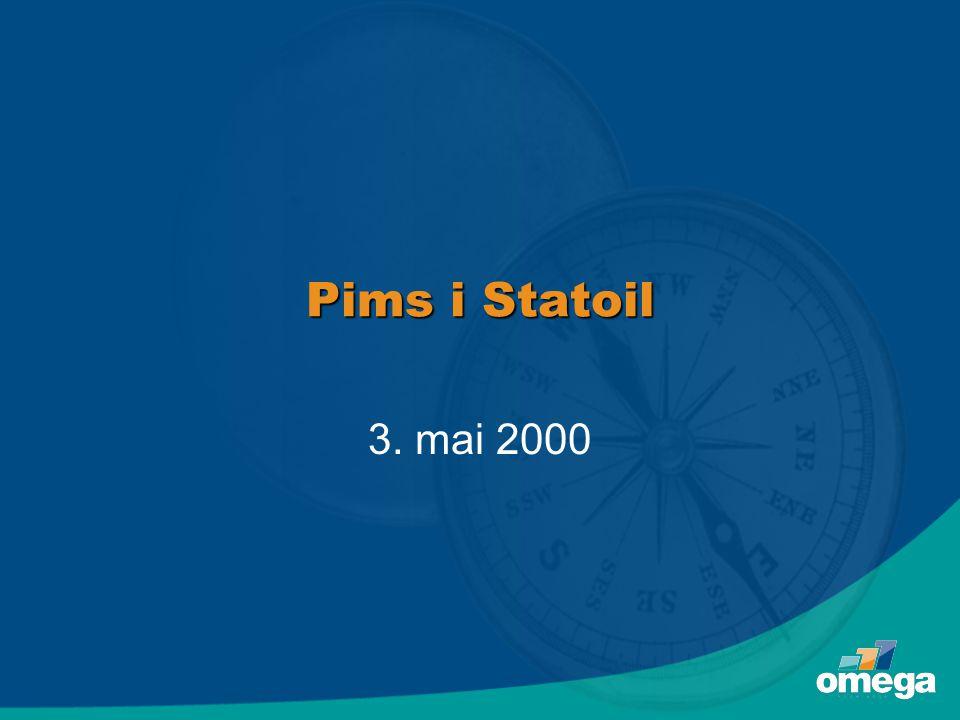 Pims i Statoil 3. mai 2000