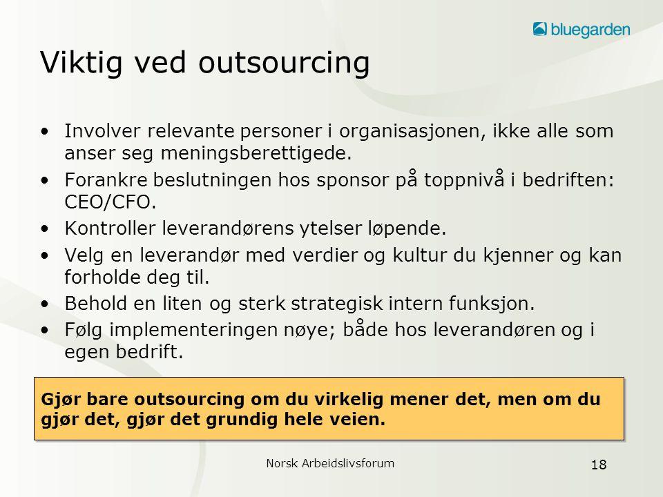 Norsk Arbeidslivsforum 19