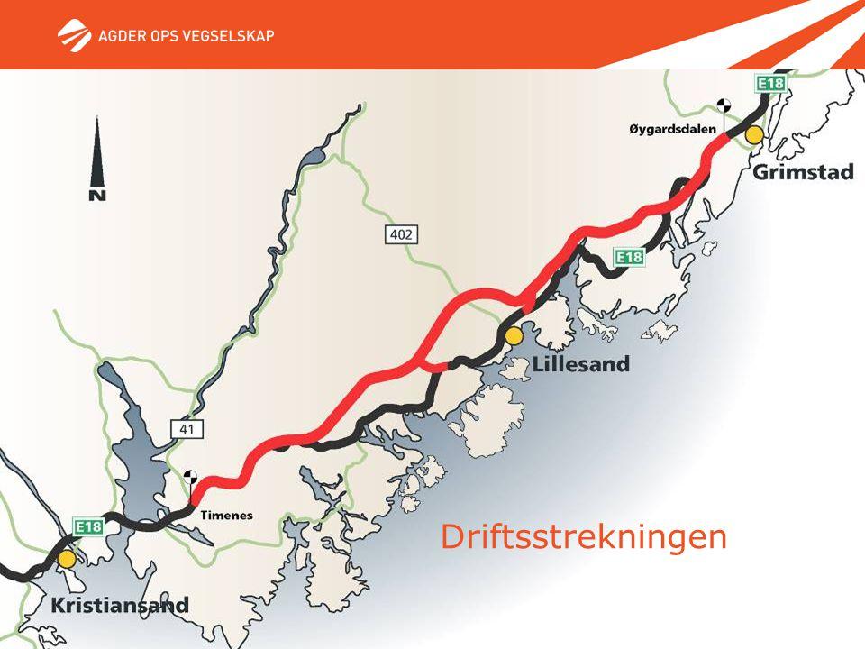 11. mai 2007 - Side 15 Driftsstrekningen Øygardsdalen - Timenes Driftsstrekningen