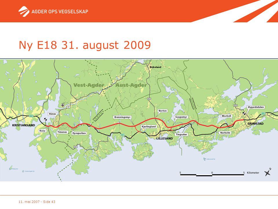 11. mai 2007 - Side 43 Ny E18 31. august 2009