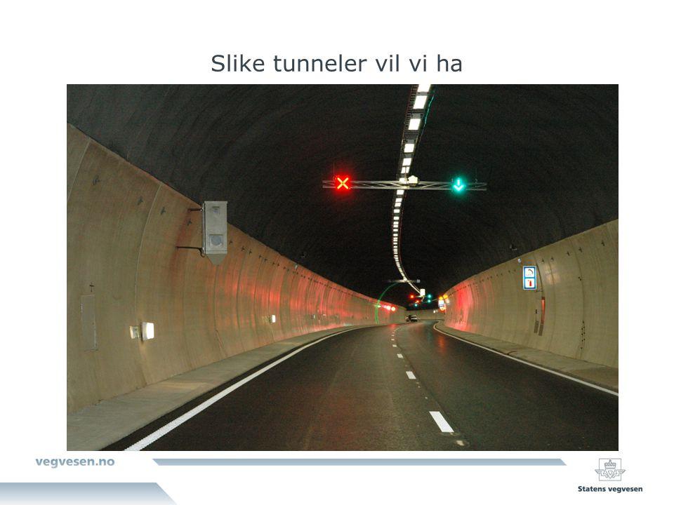 Slike tunneler vil vi ha