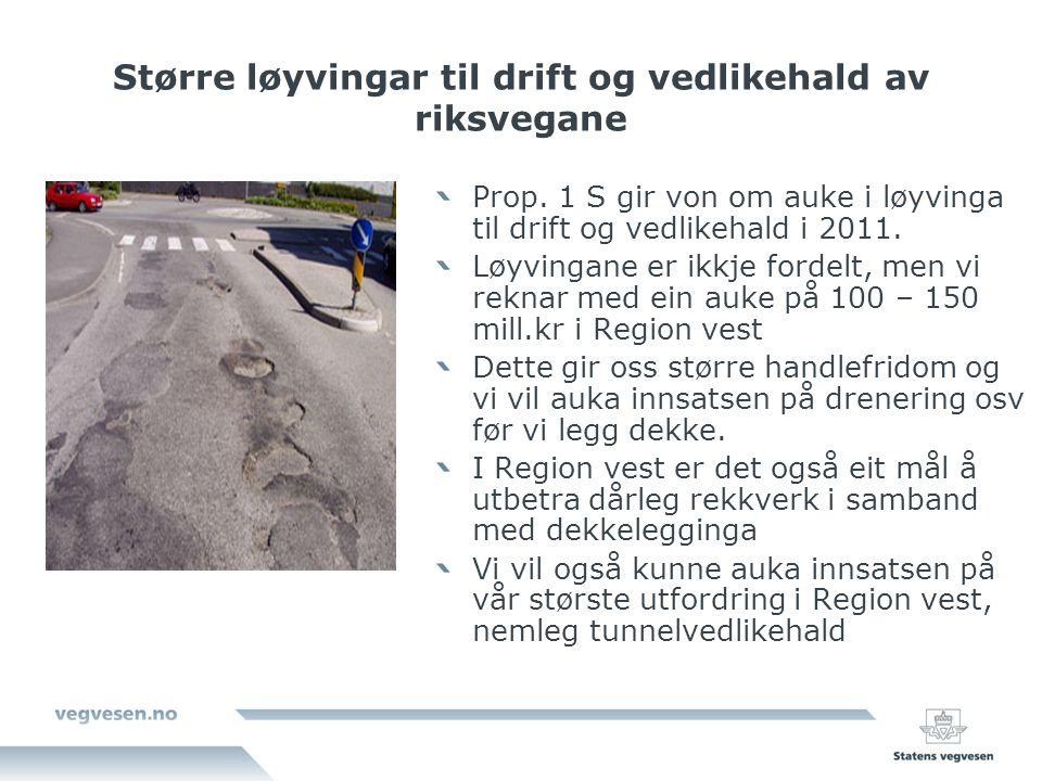 Nye kontrakter E39 Svegatjørn-Rådal Prosjektet omfatter ny firefelts veg mellom Os og Rådal i Bergen og en arm til rv.