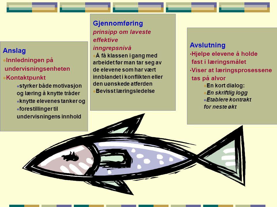 Anslag  Innledningen på undervisningsenheten  Kontaktpunkt  styrker både motivasjon og læring å knytte tråder  knytte elevenes tanker og  foresti