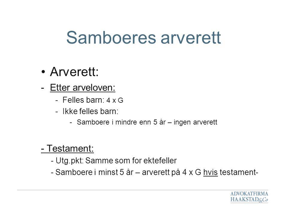 Testament Formelle krav 1.Testator Navn, personnummer, (sivilstatus) Sted, dato Underskrift 2.
