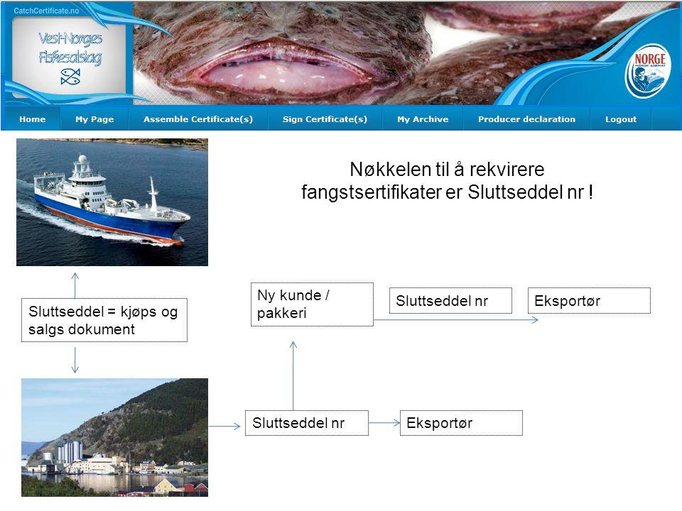 Her skal Navn på importør og tilleggsopplysningene som skal være på sertifikatene skrives inn.