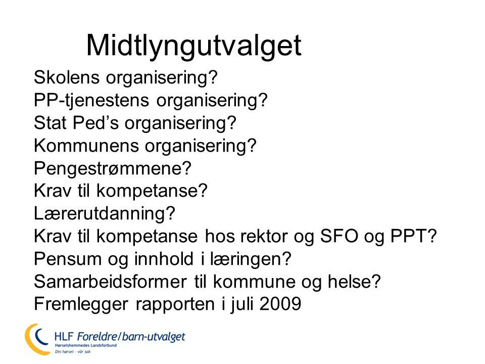 Skolens organisering.PP-tjenestens organisering. Stat Ped's organisering.