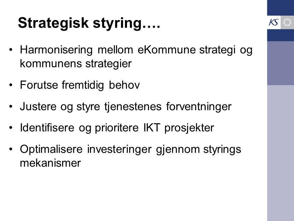Strategisk styring….